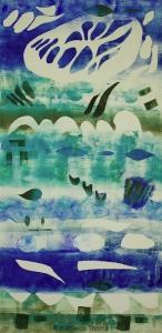Asperations by Night Kathleen Thoma Monotype